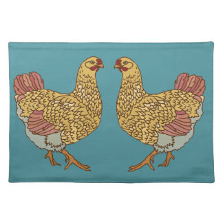Hen Party Cloth Placemat