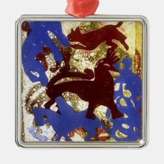 Hen Party Metal Ornament