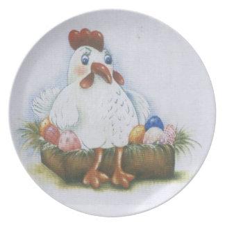 hen plate