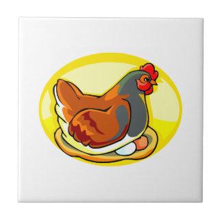 hen sittin gon eggs yellow oval.png tile