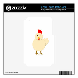 Hen Skins For iPod Touch 4G