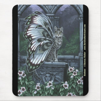 Henbane Tabby Fairy Cat Mousepad