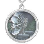 Henbane Winged Cat Necklace
