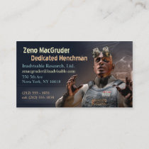 Henchman Business Cards