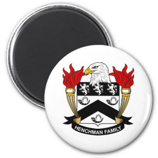 Henchman Family Crest Magnet