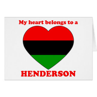 Henderson Card