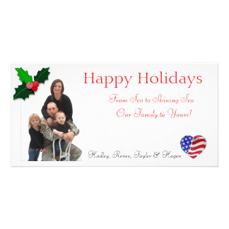 Henderson Christmas Cards Photo Card