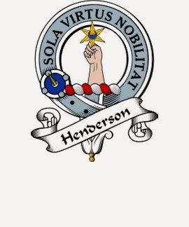 Henderson Clan Badge Tee Shirts