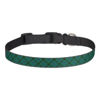 Henderson Clan Bright Green, Blue and Black Tartan Pet Collar