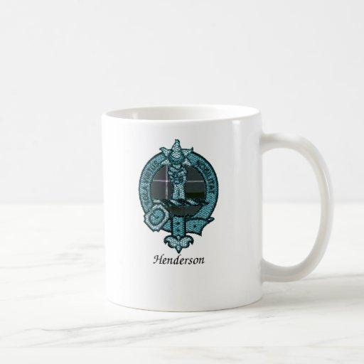 Henderson Clan Crest Classic White Coffee Mug