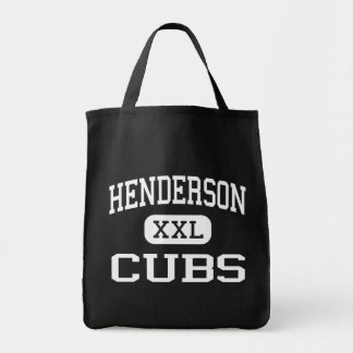 Henderson - Cubs - Middle School - Henderson Texas Grocery Tote Bag