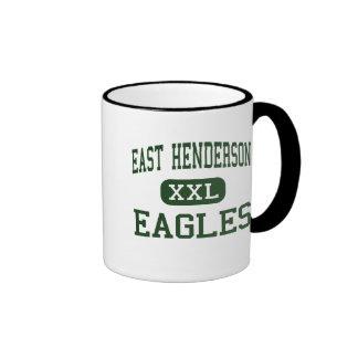 Henderson del este - Eagles - mayor - roca plana Taza De Dos Colores