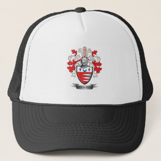Henderson Family Crest Coat of Arms Trucker Hat