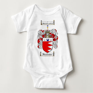 HENDERSON FAMILY CREST -  HENDERSON COAT OF ARMS BABY BODYSUIT