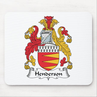 Henderson Family Crest Mouse Pad