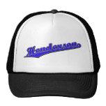 Henderson in Blue Hats