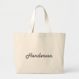 Henderson Nevada Classic Retro Design Jumbo Tote Bag