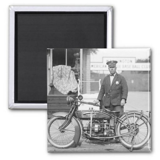 Henderson Police Motorcycle, 1922 Magnets