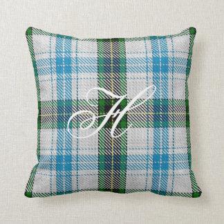 Henderson Tartan Monogram Pillow
