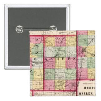 Henderson, Warren, Knox counties Pinback Button