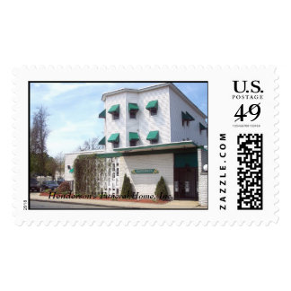 Henderson's Funeral Home, Inc. Postage Stamp