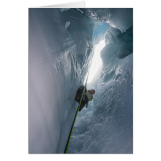 Hendidura de Juneau Icefield (espacio en blanco de Tarjetón