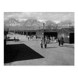 Hendidura de la escuela, centro de la tarjetas postales