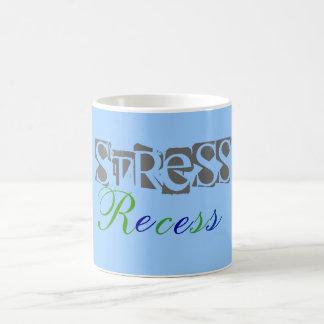 Hendidura de la tensión tazas de café