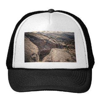 Hendidura impresionante gorras de camionero