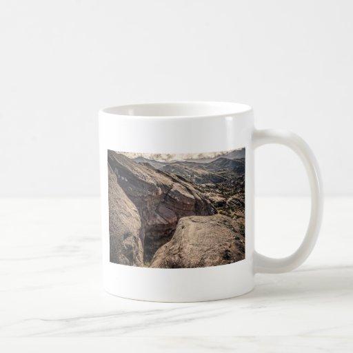 Hendidura impresionante taza básica blanca