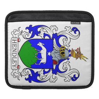 Hendley Coat of Arms II iPad Sleeves