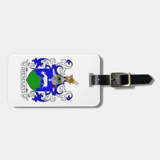 Hendley Coat of Arms II Tags For Bags