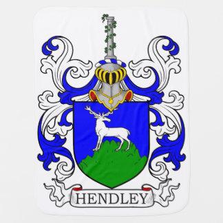 Hendley Coat of Arms III Baby Blankets