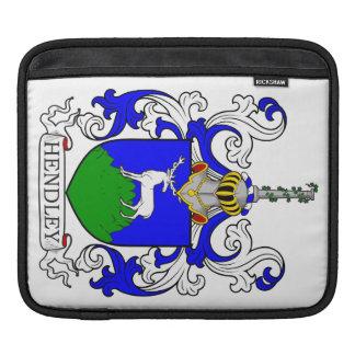 Hendley Coat of Arms III iPad Sleeve