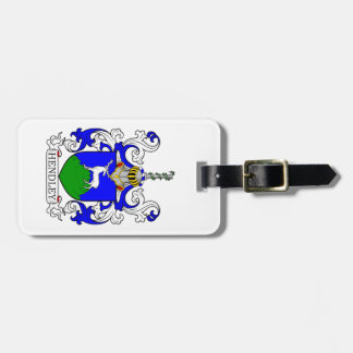Hendley Coat of Arms III Luggage Tags