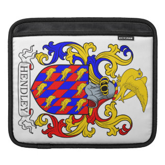 Hendley Coat of Arms IV Sleeves For iPads