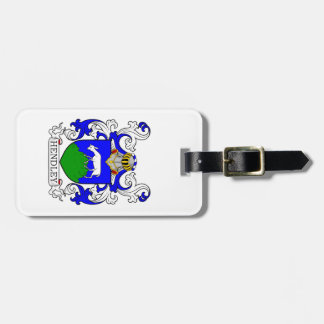 Hendley Coat of Arms Tags For Luggage