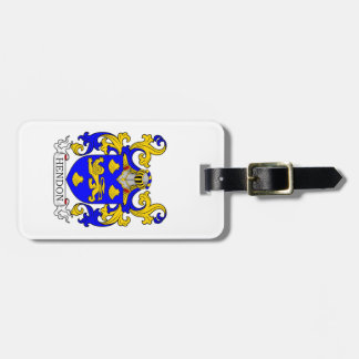 Hendon Coat of Arms Travel Bag Tag