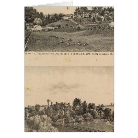 Hendren residences card