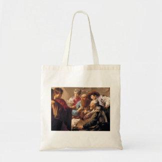 Hendrick Terbrugghen- The Calling of St. Matthew Tote Bag