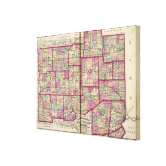 Hendrickson County and Marion County Canvas Print