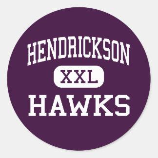 Hendrickson - Hawks - High - Pflugerville Texas Classic Round Sticker