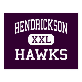 Hendrickson - Hawks - High - Pflugerville Texas Postcards