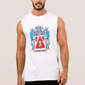 Hendriks Coat of Arms - Family Crest Sleeveless T-shirts