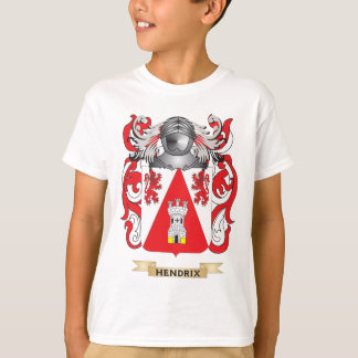 Hendrix Coat of Arms (Family Crest) T-Shirt
