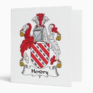 Hendry Family Crest Binder