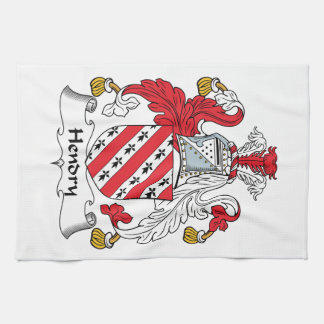 Hendry Family Crest Kitchen Towel