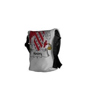 Hendry Family Crest Messenger Bag