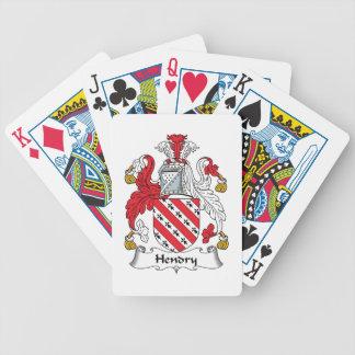 Hendry Family Crest Poker Deck