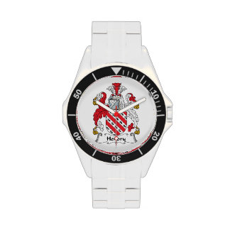 Hendry Family Crest Wristwatch